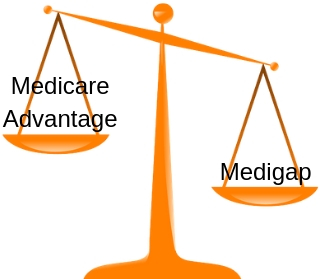 medicare advantage vs medigap image